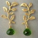 Gold Branch and Peridot Gre..